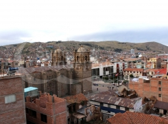Panoramic view Puno
